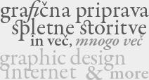 Grafična priprava, spletne storitve in še več | Graphic Design, Internet Services & More